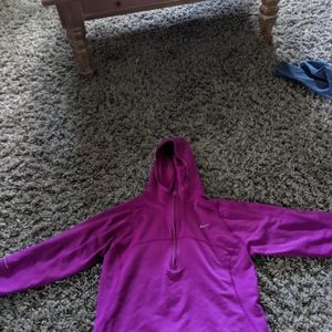 Purple Zip up Nike Running Jacket